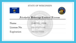 Sample Wisconsin Alcoholic Beverage Control License