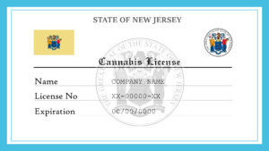 Sample New Jersey Cannabis License