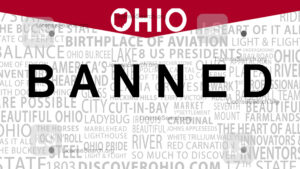 Sample Ohio Banned License Plate